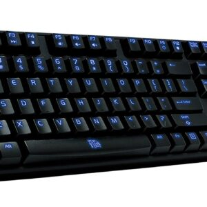 Teclado Meânico Tt eSports Poseidon Z illuminated Brown Switch - KB-PIZ-KB Blue