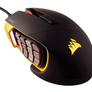 Mouse Gamer Óptico Scimitar Pro 16000 DPI Led RGB CH-9304011-NA Corsair